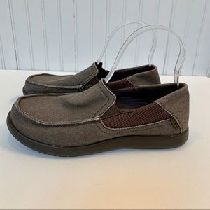 CROCS Santa Cruz slip on loafer. Pristine.